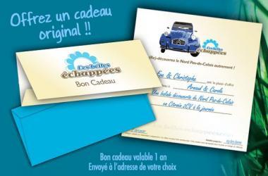Citroen 2CV Gift Card