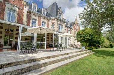 E-solex et NAJETI Hôtel Château Tilques