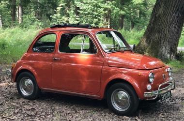Fiat 500 et Chambre d'Hôtes