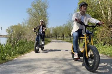 Aventure Lil'buddy, tandem et vélo