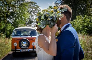 Mariage en Combi VW