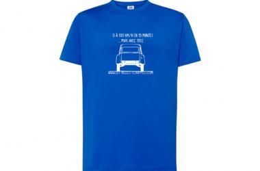 T-Shirt 2CV 0 à 100 km/h